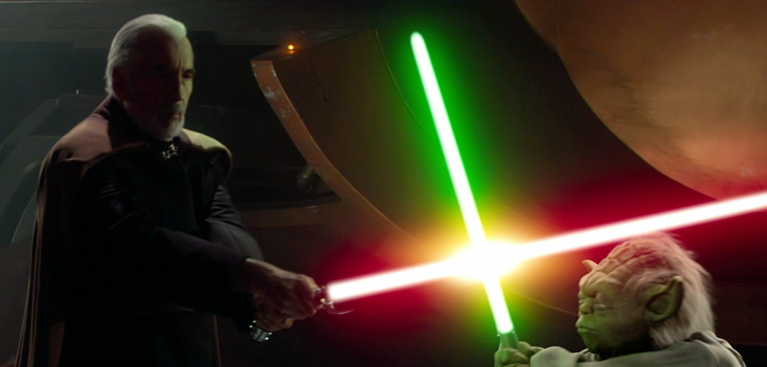 Dooku v Yoda