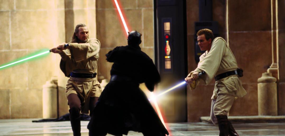Maul v Obi-Wan Qui-Gonn