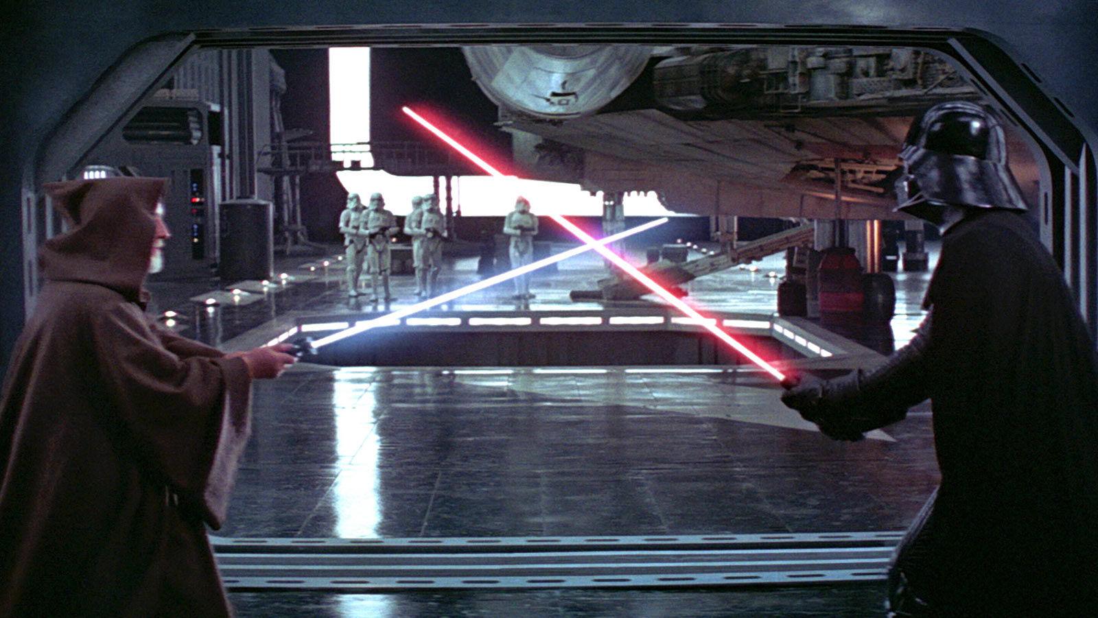Vader v Obi-Wan