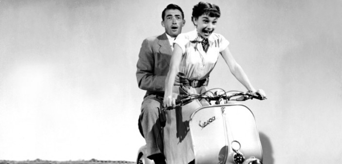 Roman Holiday Vespa