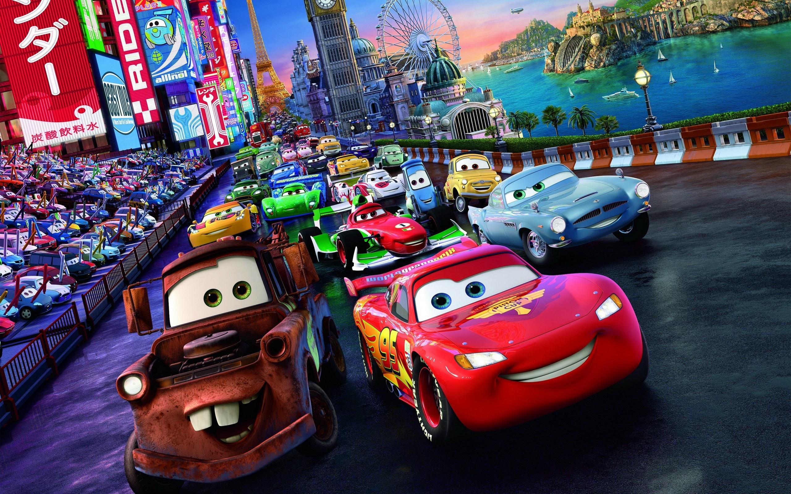 cars mcqueen disney pixar movies characters lightning mater mad rayo カー mate para race princess