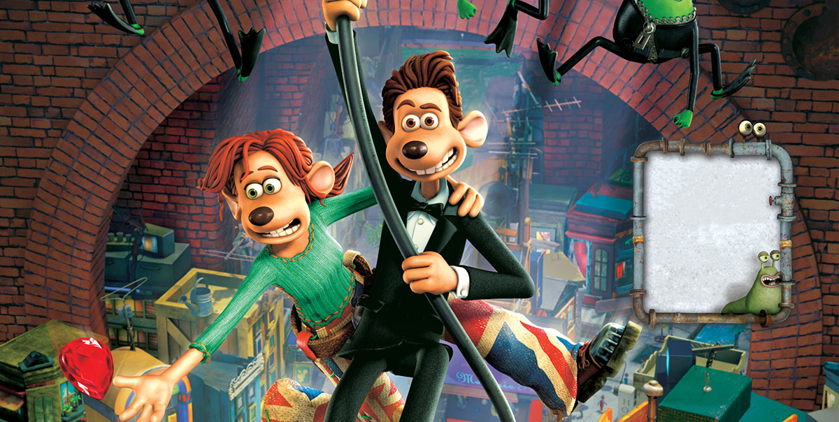 flushed away review the mad movie man