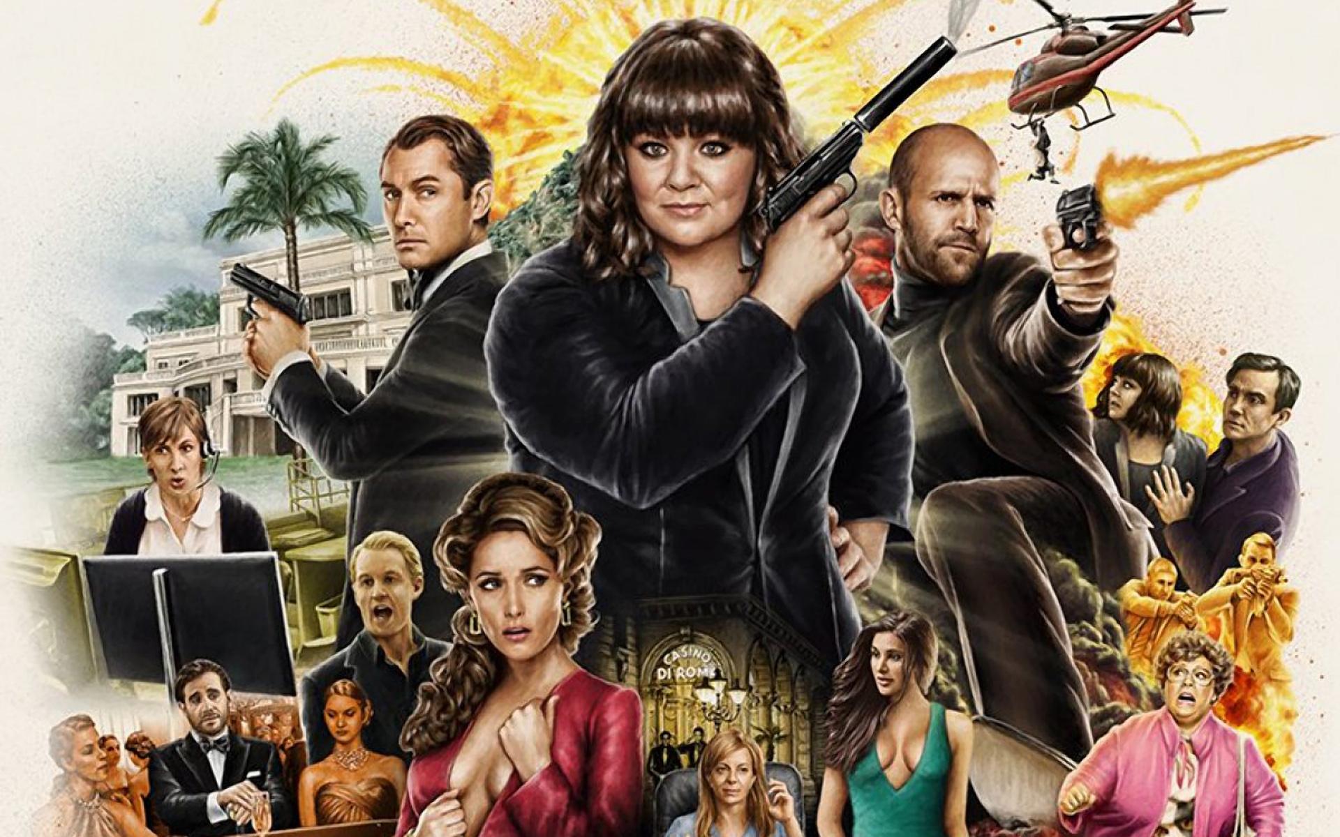 Spy Movie Review The Mad Movie Man